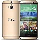 HTC One M8S Smartphone (12,7 cm (5 Zoll) Display, 16GB interner Speicher, Android 5.0 OS) Amber Gold