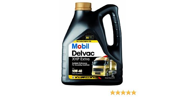 Mobil 148369 Delvac Xhp 10w40 4 Liter Auto