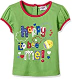 #6: Donuts Baby Girls' T-Shirt (268416672_18M_LIME-GREEN)