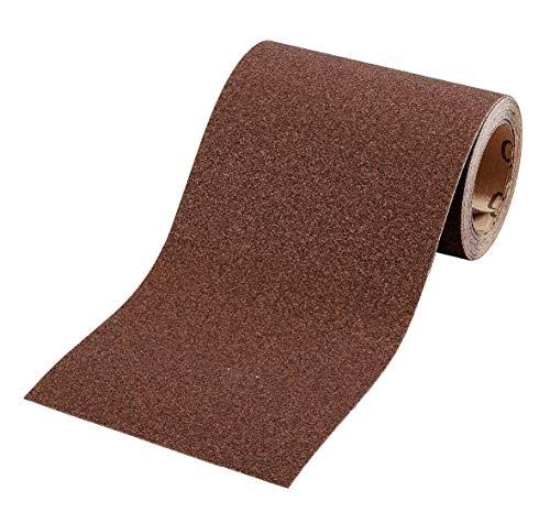 kwb Schleifpapier auf Rolle - Schleifpapier-Rolle 5 m für Metall, Holz, Lack 115 mm, Korn K-240 -