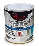 Esmalte para azulejos al agua kolman. Pintura de azulejos (750 ml, colores claros)