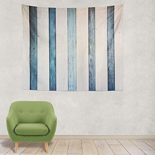 BAOQIN Tapisserie Cloud Cloud Blue Cool Summer Art Backdrop Cartoon Day Decoration Graphic Group Heaven Decorative Tapestry 60 X 80 Inch Wall Hanging Tapestry for Bedroom Living Room (Wandbehang-quilt-rack)