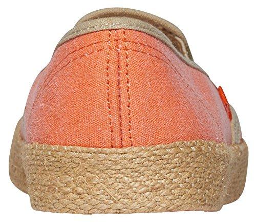 Roxy Damen Redondo Jute Slip On Shoes, Baskets Basses Femme Orange (Tangerine Tng)