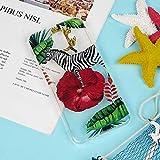 LaVibe Coque Samsung Galaxy A6 2018 Étui Gel Silicone TPU Transparant Protecteur Housse Anti-Rayures Pare-Chocs Bumper Souple Ultra Slim Flexible Soft Case Cover - Chouette Amour