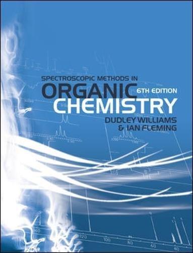 Spectroscopic Methods in Organic Chemistry (9780077118129)