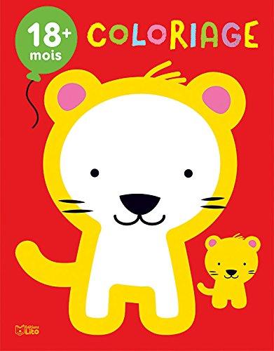 Mon premier bloc de coloriage: Les bébés animaux - Dès 18 mois par Marie-Hélène Grégoire