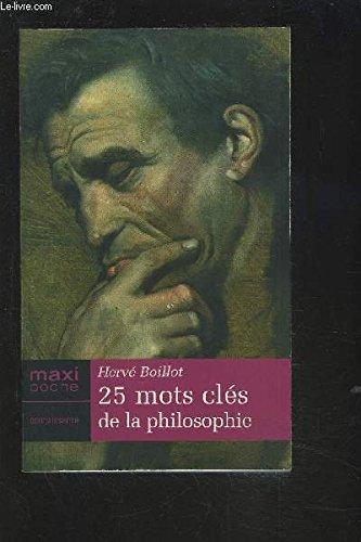 25 Mots Cles de la Philosophie