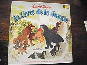 le livre de la jungle - livre disque le petit ménestrel ST