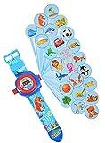 HH Poland Armbanduhr für Kinder Kinderuhr Lehrnuhr Projektor Spielzeug Smartwatch Junge