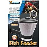 Superfish MANGIATOIA Alimentatore DISTRIBUTORE Automatico per Carpe Koi Pesci LAGHETTO 7 L
