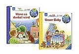 Ravensburger Junior Bücher Set - Wieso? Weshalb? Warum? Unser Baby und Wenn es dunkel wird