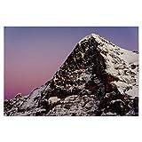 artboxONE Poster 150x100 cm Natur Eiger North face at