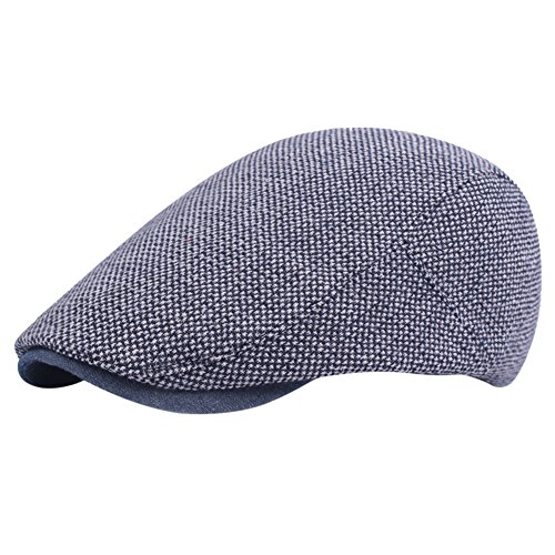iShine Unisex Barett für Freizeit Mütze Größe Einstellbar Baseballcap Outdoor Reisen Golf Classic Style Mode Atmungsaktiv Dunkelblau (Nfl Einstellbare Golf Hut)