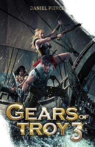 Gears of Troy 3: A Scifi Fantasy Harem (English Edition)
