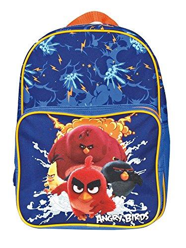 Angry-Birds-Mochila-infantil-Blu-elettrico-Azul-13618