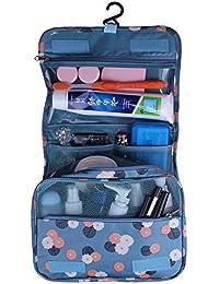 Shopper Joy Nylon Kulturtasche Kulturbeutel zum Anhängen Kosmetiktasche Waschtasche Reisetasche für Damen Herren für Reise Zugreise Camping Outdoor Aktivitäten