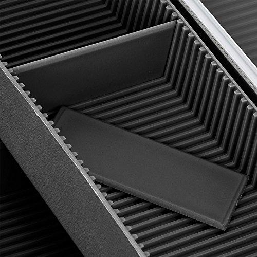 Alurahmenkoffer Werkzeugkoffer Etagenkoffer VARO + Fachbodeneinsätze abschließbar silber - 6