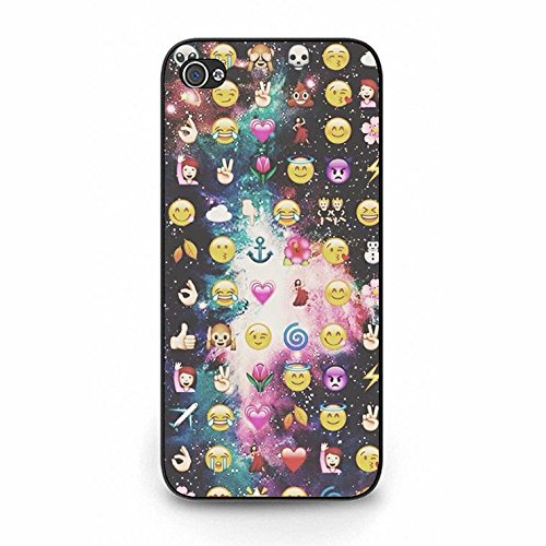 Emoji Iphone 5/5s Case Fashionable Mint Emoji Phone Case Cover for Iphone 5/5s Emoticons Cute Color128d