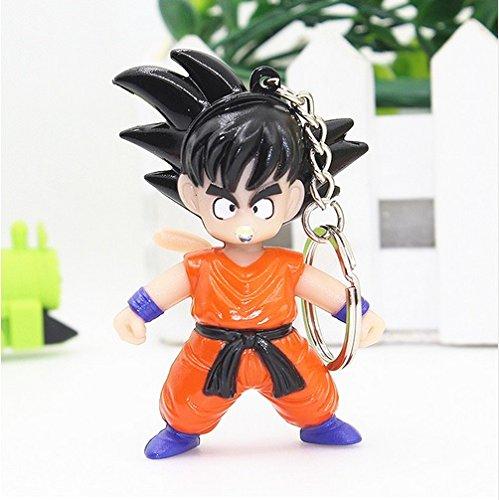 Preisvergleich Produktbild Dragon Ball Son-Goku Schlüsselanhänger Figur mit LED und Sound Dragonball
