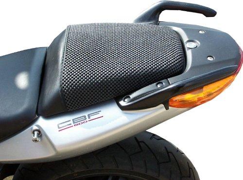 Honda CBF500 (2004-2008) Cubierta TRIBOSEAT para Asiento Antideslizante Accesorio Personalizado Negro