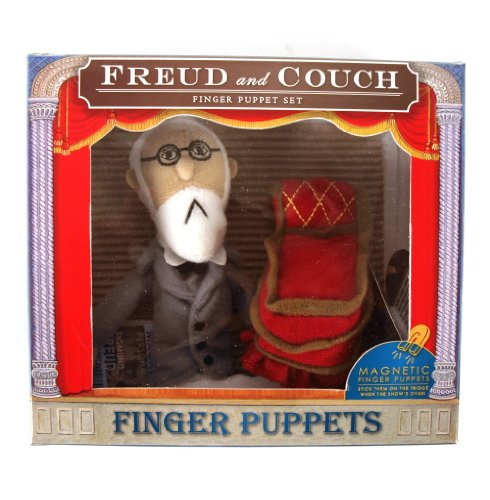 Freud & Couch Finger Puppets