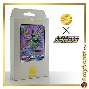 Symvolara-GX (Sigilyph-GX) 202/214 Full Art - #myboost X Sonne & Mond 8 Echo Des Donners - Box de 10 Cartas Pokémon Alemán