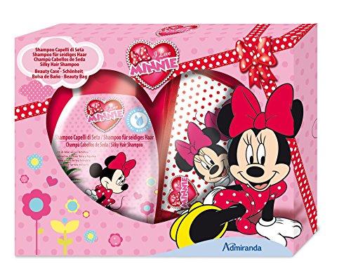 Disney Minnie Geschenkset-Shampoo und Kulturtasche, 1er Pack (1 x 2 Stück)