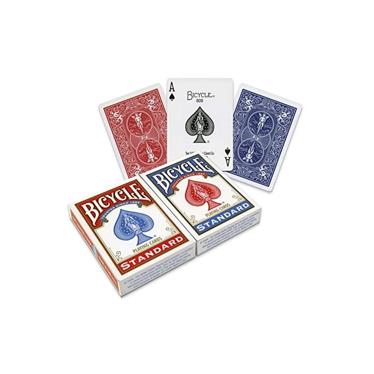 Bicycle US Playing Card 60808 2 x 54 cartas Lote de barajas inglesas