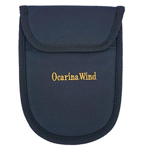 12Loch Okarina Schutztasche–Einzigartiges Design mit weicher Innenseite