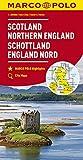 MARCO POLO Karte Großbritannien Schottland, England Nord 1:300 000: Wegenkaart 1:300 000 (MARCO POLO Karten 1:300.000)