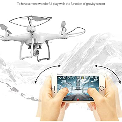 TWIFER X10 2.4Ghz Quadcopter Camera WIFI FPV Headless Mode Altitude Hold RC Drone