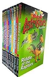 Astrosaurs collection 10 books set by steve cole