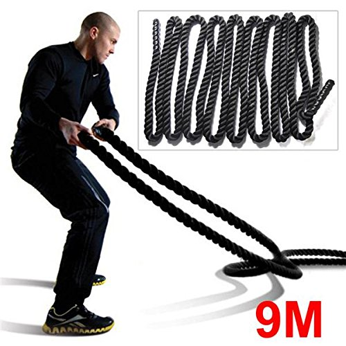 Outdoortips-38mm-9M92M-Training-Battling-Battle-Power-Rope-Body-Strength-Sport-Exerice-Fitness-Bootcamp