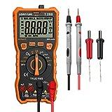 LOMVUM Multimètre numérique testeur, TRMS 6000 compte voltmètre à plage...