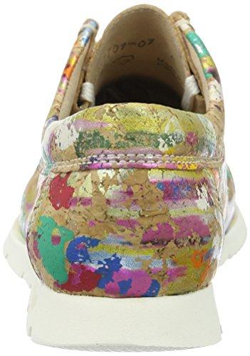 Sioux Grashopper-d-141, Mocassins (loafers) femme Mehrfarbig (Blob-Multi)