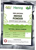 Allin Exporters Indigo Powder For Coloring Hair - 60 Grams (1 Packet)