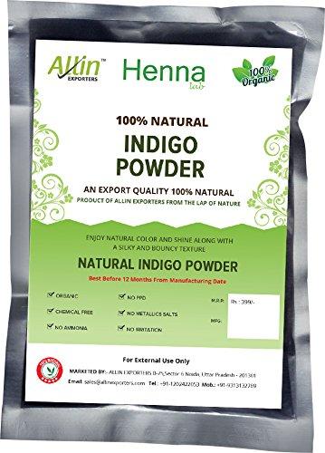 INDIGO POWDER – 100% ORGANIC AND NATURAL WAY OF COLORING HAIR