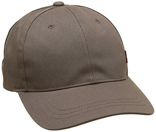 Levi's Herren Classic Twill Red Tab Baseball Cap, Grau (Dark Grey 56), One Size (Herstellergröße: UN)