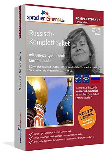 Russisch Sprachkurs: Fließend Russisch lernen. Lernsoftware-Komplettpaket