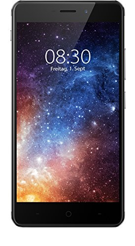 Image of TP-Link Neffos X1 4G LTE Smartphone (12,70 cm (5,0 Zoll) HD Display, 2 GB Speicher, Android 7.0) cloudy grey