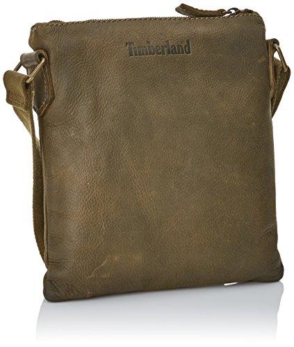 Timberland Tb0a1b8b, Sacs portés épaule Vert (Oil Green)