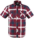 Brandit Roadstar Hemd Rot/Weiß/Blau XL