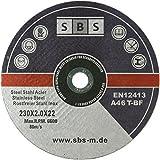 10 Stück SBS Trennscheiben 230 x 2,0mm INOX Flexscheibe