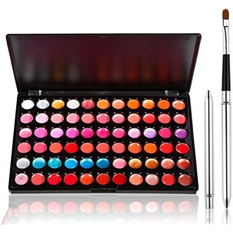 Hongteen 66 Colour Lip Gloss Stick Palette Makeup Kit Set