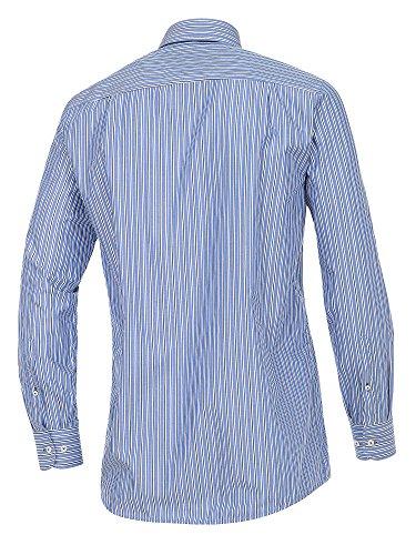 CASAMODA SPORTS Herren Freizeithemd 100% Baumwolle - auch große Größen Comfort Fit Blau
