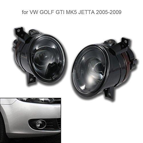 KKmoon Paar Covex Linse Licht Auto vor Ort Nebelscheinwerfer links und rechts
