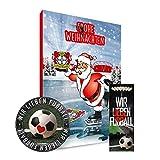 Adventskalender, Weihnachtskalender deines Bundesliga Lieblingsvereins 2018 - Plus gratis Sticker & Lesezeichen Wir Lieben Fußball (Bayer 04 Leverkusen)
