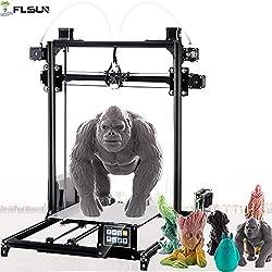Imprimante 3D Plus Prusa I3DIY Flsun - Écran tactile - calage automatique - grande taille d'impression