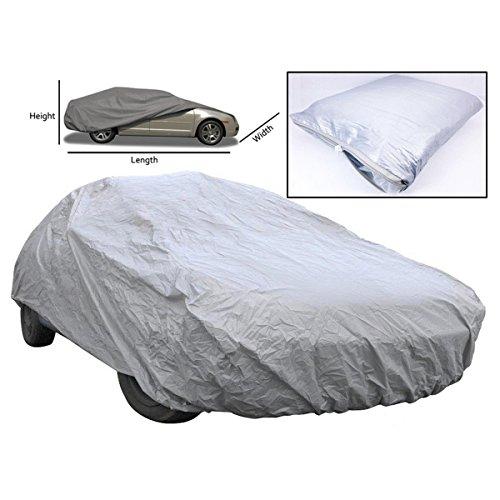 WINOMO Universal Auto volle Abdeckung Wasserdicht UV Schutz Outdoor Decke atmungsaktiv-Größe M