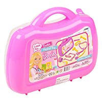 Barbie Nurse Doctors Medical Case Play Kit Set Childrens Medicine First Aid Box